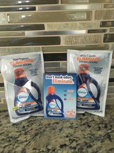 mildew towels febreze in wash odor eliminator