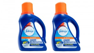 washing wading clothes febreze in wash odor eliminator